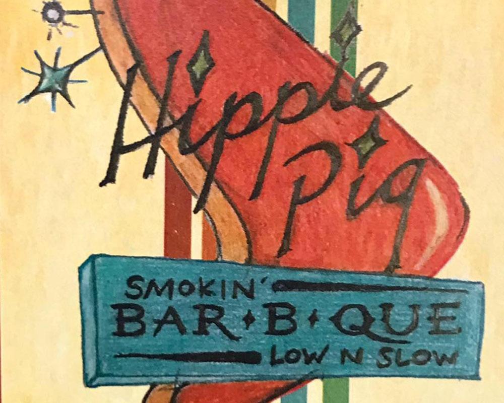 hippie-pig